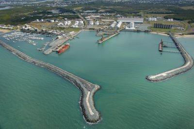 Port of Mackay's Southern Breakwater